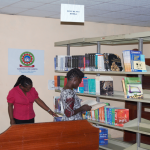 Campus Library receives books donation