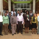 JKUAT Library staff during the LMC meeting