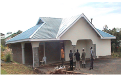 Eco-house employing local