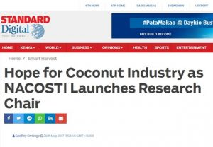 NACOSTI launches research chair at JKUAT ~ Standard Digital